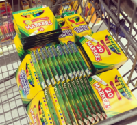 10¢ Crayola at Walmart… RUN!!!
