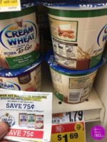 Cream of Wheat only $.19!