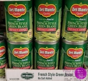 CHEAP Del Monte vegetables!