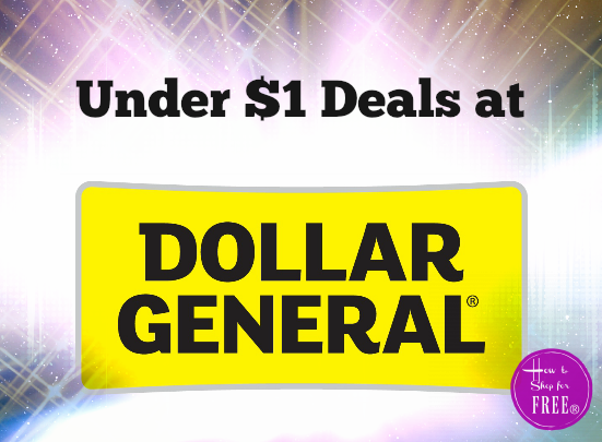 31 Items For Under $1 at Dollar General (10/29 – 11/4)