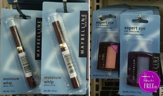 FREE Maybelline Lip & Eye at Dollar Tree!