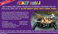WOWZER~ Fire Pit for $9.00!! (3 Days Only)