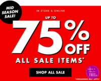 75% Off Clothes at Forever 21!