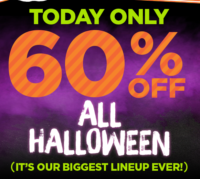 60% OFF Everything Halloween!!! (Today Only)