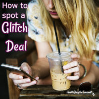 How to Spot a Glitch Deal