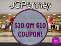 $10 Off $10 JCPenney Coupon!!