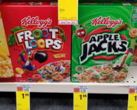 Kellogg's Cereals only $.99 at CVS!