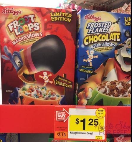 HUGE MM on Kellogg's Cereal at Stop & Shop!
