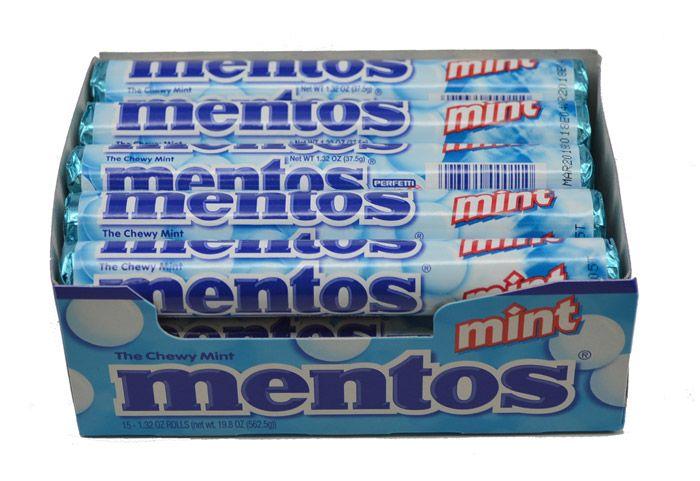 Wow! Free Mentos Mints!!