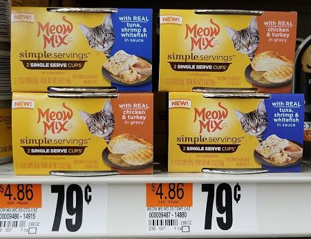 Meow Mix only $.24 at Stop & Shop!