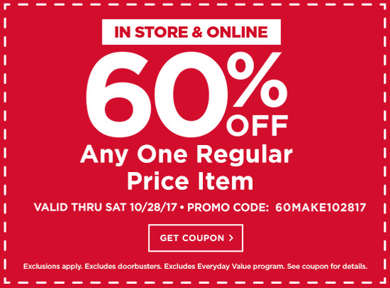 60% OFF Coupon to Michael's! One-Day Only!