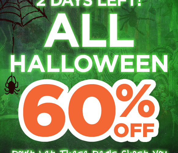 ALL #Halloween 60% OFF~ Last Day!!