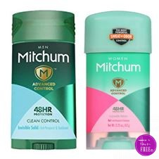 Mitchum Deodorant only $.98 at CVS! ~ No coupons necessary!