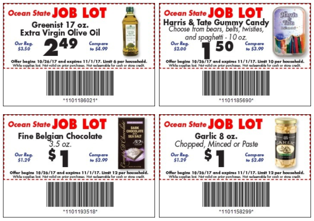 Print Your NEW Job Lot Store Coupons!!