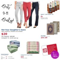 Job Lot Insider Exclusive Deals~ Mon. to Wed. ONLY!