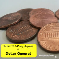 The Secrets to Penny Shopping at Dollar General