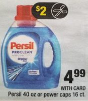 Persil only $.24 at CVS Starting Sunday, 10/22! ~NEW printable coupon!