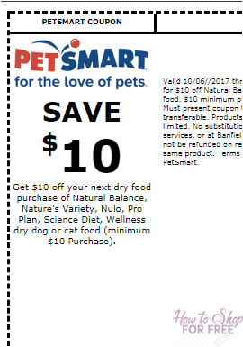 More FREE Dog or Cat Food w/ PetSmart Printable Coupon ...
