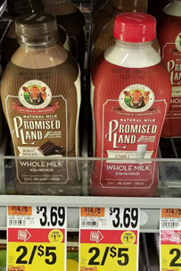 Promised Land Milk as low as $1.00 at Stop & Shop! (10/06/17-10/12/17)