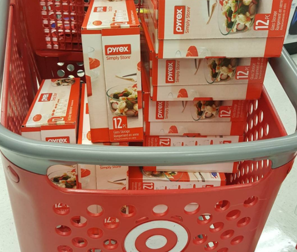 $6 Pyrex Sets (12pcs) at Target!!!!!