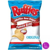 UPDATE! Ruffles Family Size Chips Only $1.97 at Dollar General