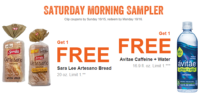 Two MyMixx Saturday FREE Offers at Shaw's Through 10/16!