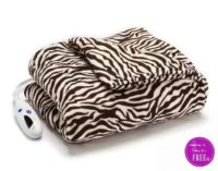Heated Plush Throws Only $38 Shipped from Kohl's!