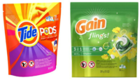 Tide Pods or Gain Flings Only $1.50 at Dollar General