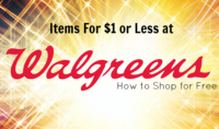 22 Items for $1 or Less at Walgreen's Starting 10/15!