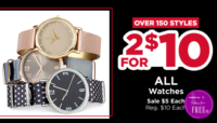 $5 Watches from Michael's~ Today Only! (Reg/$10)