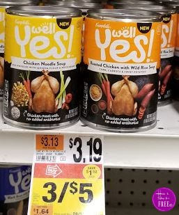 Campbell's Well Yes! Soup only 17¢ – Reg. $3.19! Stock UP!