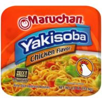 Maruchan or Yakisoba Soups only $.17 at Stop & Shop!