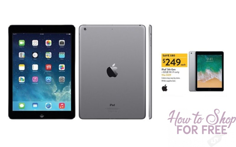 32GB iPad 5th Gen~ $249!!! Best Price!