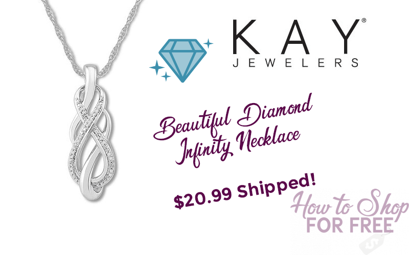 $21 Diamond Necklace from Kay Jewelers!! (Was/$70)