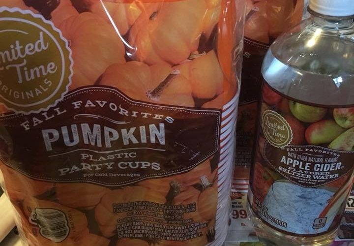 WOW! Pumpkin Party Cups (50 ct) Only $.85 at Stop & Shop