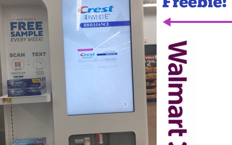 FREE Crest Sample at Walmart!!