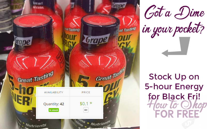 5-Hour Energy for COINS!!! Clean the Couch Cushions!!!