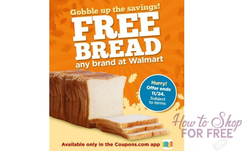 FREE BREAD AT WALMART!!! This is Not a Drill!!