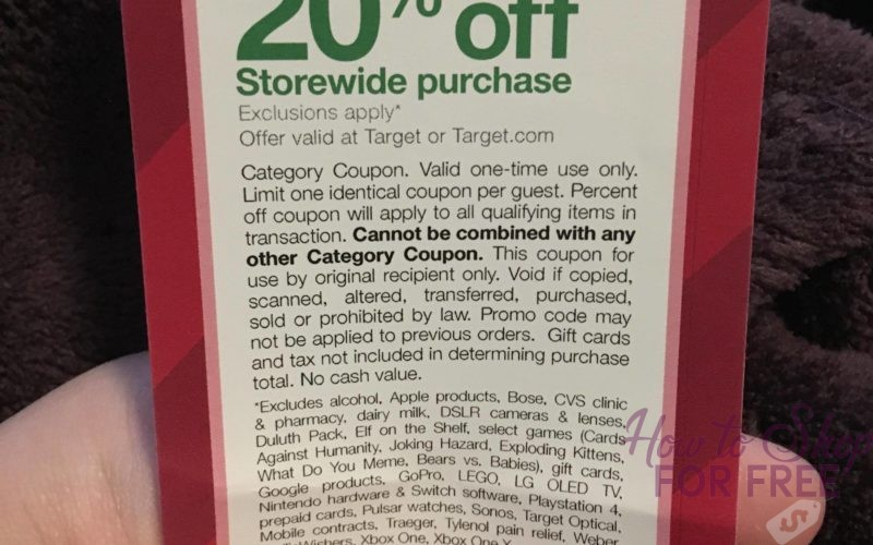 Get RARE 20% Off Future Purchase Coupon – Available TODAY ONLY