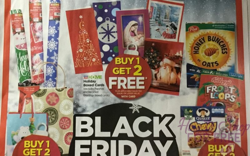 Rite Aid Black Friday  11/23 – 11/25