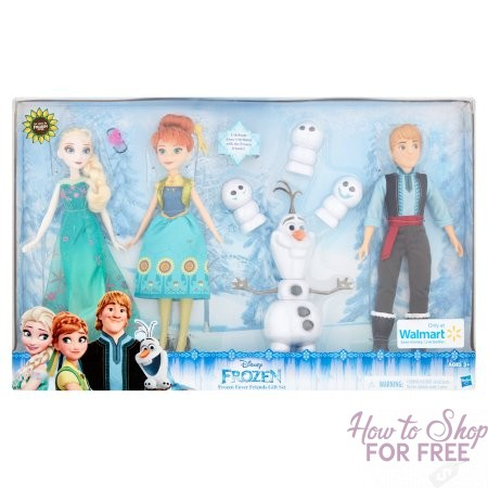 $20 Frozen Fever Friends Gift Set~ Now 64% OFF!!