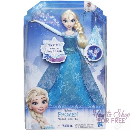 $10 Elsa Musical Lights Doll!! (Was/$30) COOL Gift Idea!