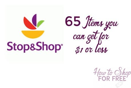 65 Items you can get for $1 or Less at Stop & Shop!