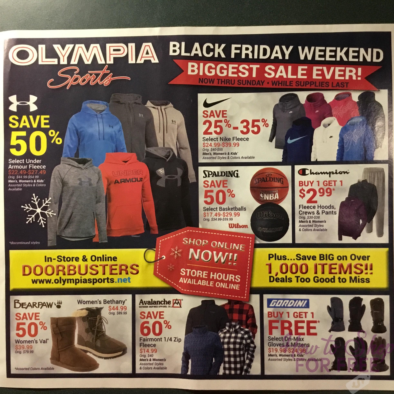 Olympia Sports Black Friday 2015: Olympia Sports Black Friday 2017 Ad Scan