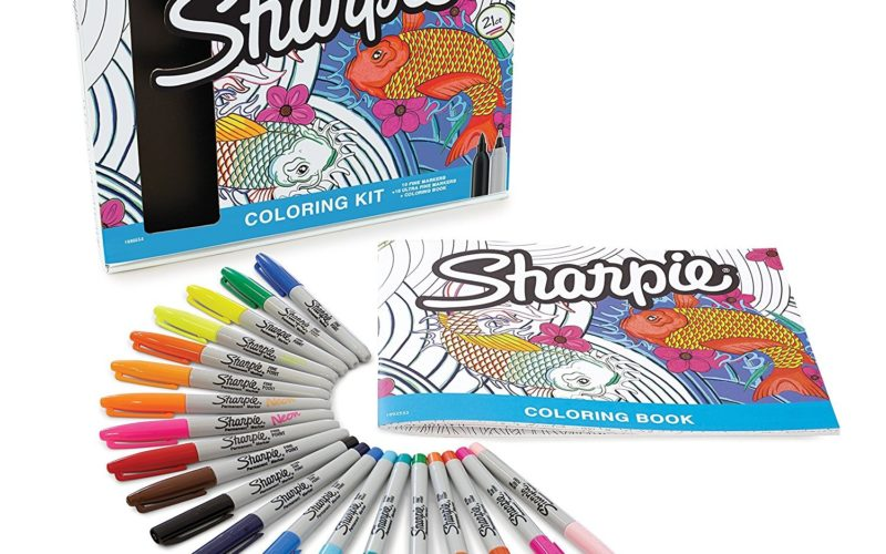 HOT~ 21pc. Sharpie Coloring Kit ONLY $9.99! (Was $30)