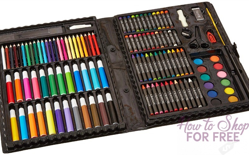 120pc. Deluxe Art Set ONLY $6.36!!