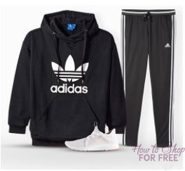 WOWZA! Today ONLY ~ up to 50% off Adidas for the Whole Family!