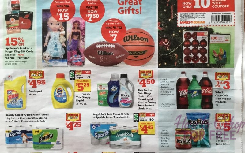 Family Dollar Ad Scan  12/5 – 12/11