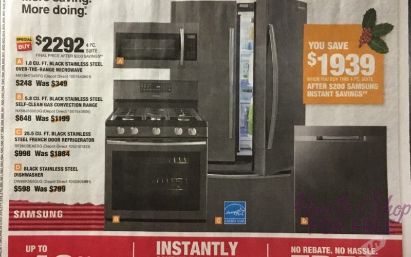 Home Depot Black Black Friday Ad Scan