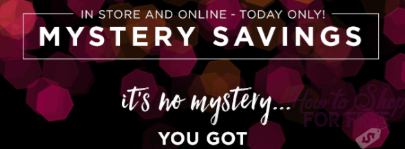 Kohl's Mystery Offer! Wohooo
